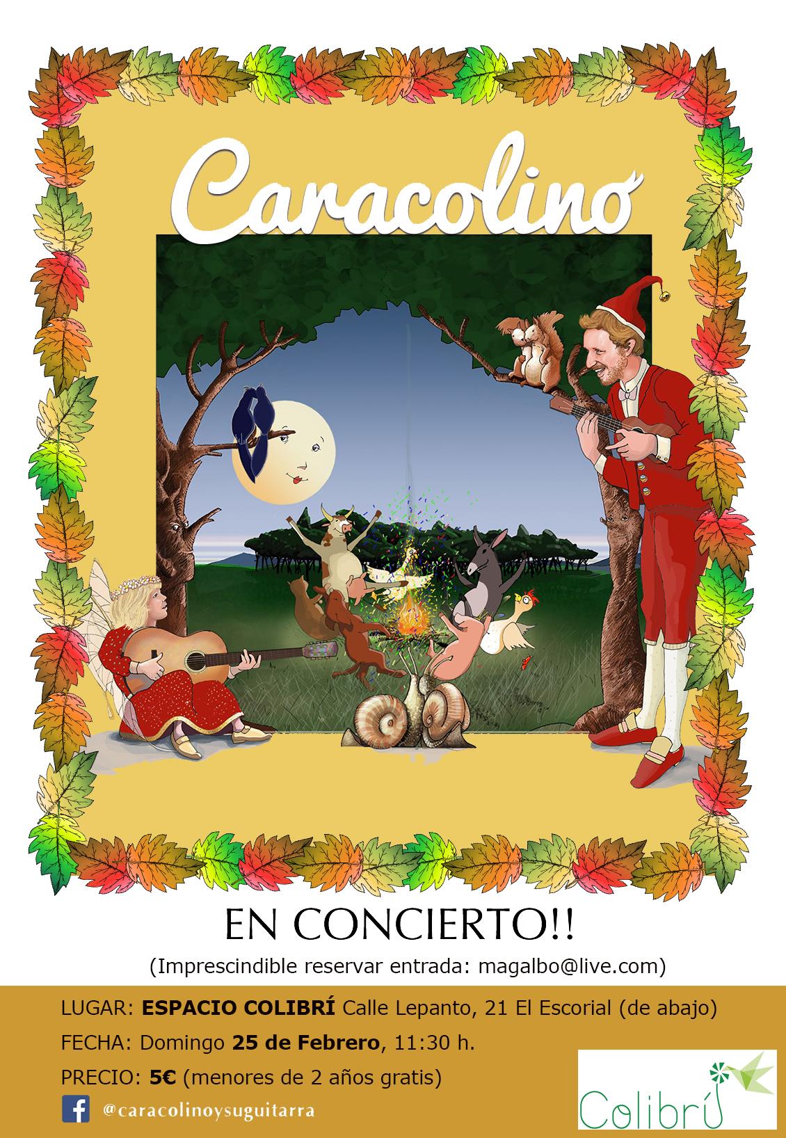 concierto caracolino colibrí