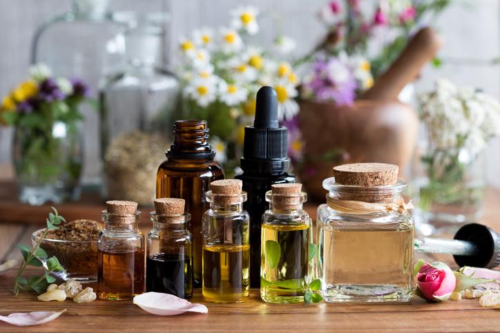 taller de aceites esenciales productos de limpieza